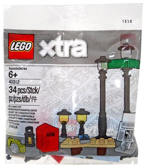 LEGO Xtra Streetlamps Set #40312