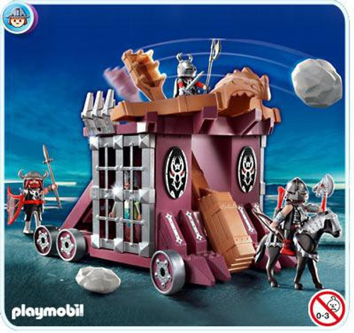 Playmobil Dragon Land Giant Catapult with Cell Set #4837 [Damaged Package]