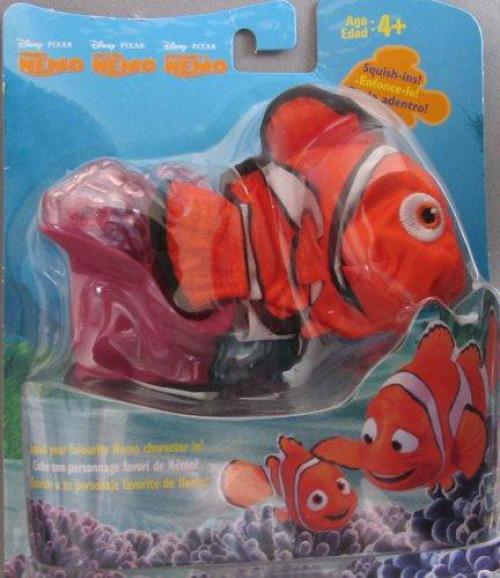 Disney / Pixar Finding Nemo Squish-Ins Anemone Home & Nemo Plush [Damaged Package]
