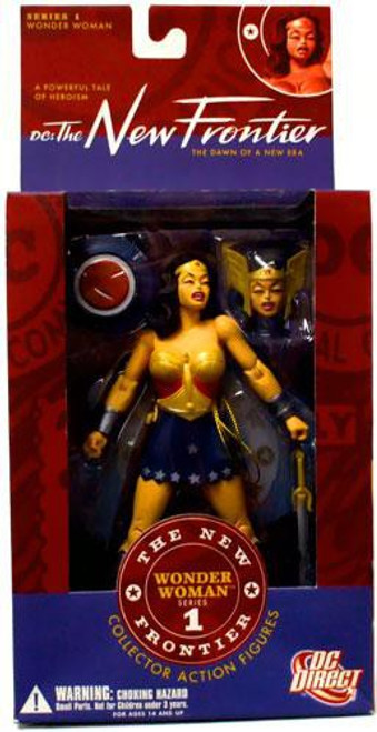 DC The New Frontier Series 1 Wonder Woman Action Figure [Damaged Package]