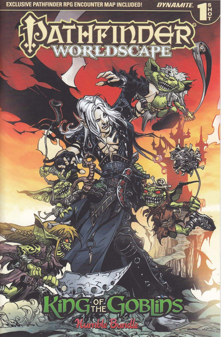Dynamite Entertainment Pathfinder Worldscape King of The Goblins Comic Book [Humble Bundle One Shot]