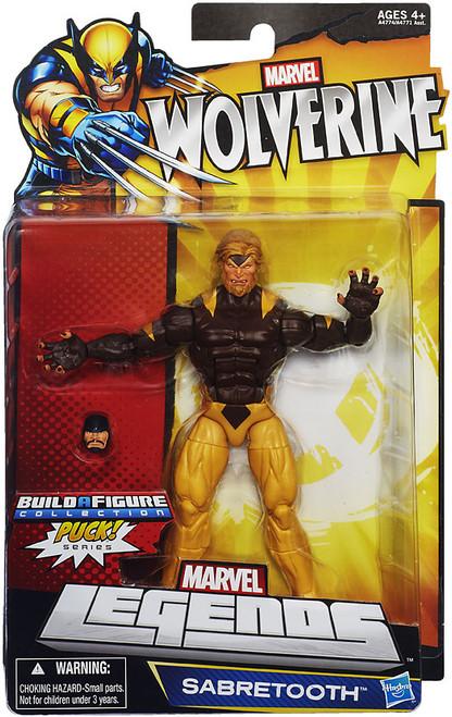 Wolverine Marvel Legends Puck Series Sabretooth Exclusive Action Figure [Damaged Package]