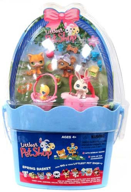 Littlest Pet Shop Spring Basket Figure Set [Damaged Package]