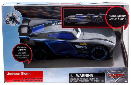 Disney / Pixar Cars Cars 3 Pullback Stunt Racer Jackson Storm Exclusive Vehicle