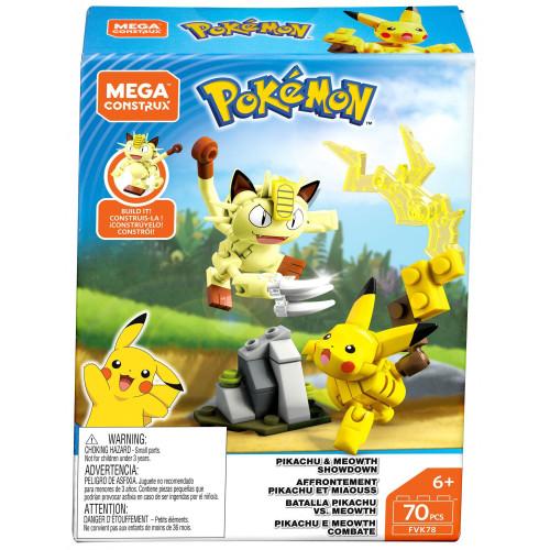 Pokemon Pikachu & Meowth Showdown Set