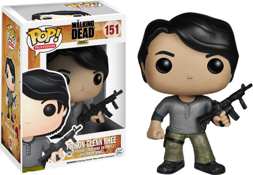 Funko The Walking Dead POP! TV Prison Glenn Rhee Vinyl Figure #151 [Damaged Package]