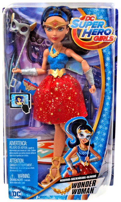 DC Super Hero Girls Masquerade Wonder Woman 12-Inch Deluxe Doll [Damaged Package]