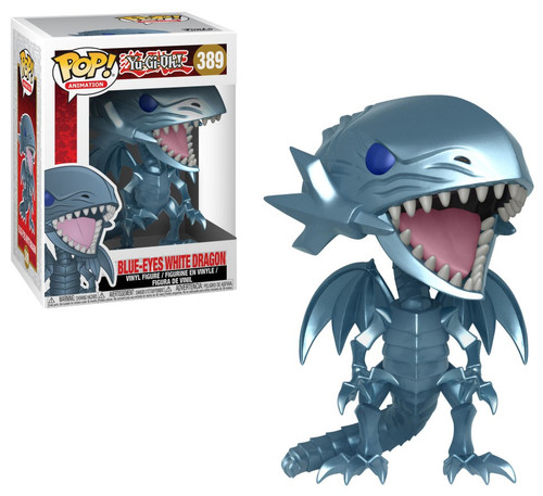 Funko YuGiOh POP! Games Blue-Eyes White Dragon Vinyl Figure #389