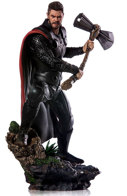 Marvel Avengers Infinity War Thor Battle Diorama Statue