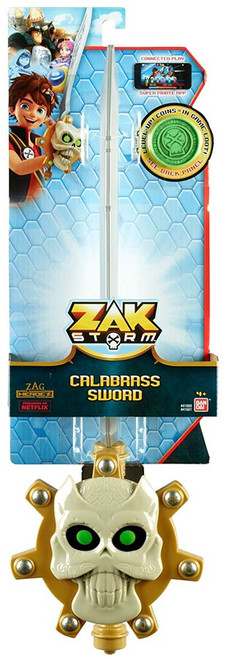 Zag Heroez Zak Storm Calabrass Sword Roleplay Toy