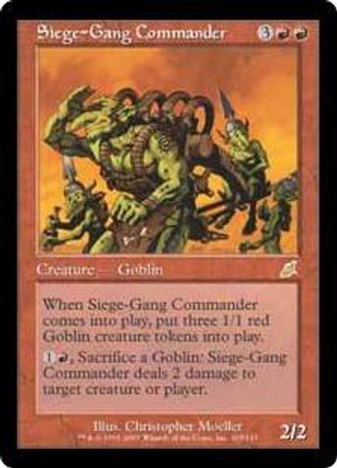 MtG Scourge Rare Siege-Gang Commander #103 [Heavily Played]