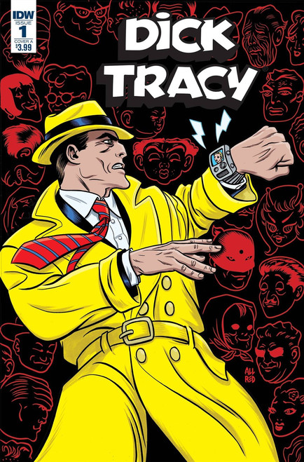 IDW Dick Tracy: Dead or Alive #1 Comic Book