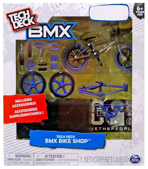 Tech Deck BMX Mini Figure 2-Pack Wetherpeople Purple / Gray Exclusive