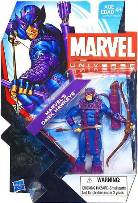 Marvel Universe Series 22 Marvel's Dark Hawkeye Action Figure #12 [Loose]