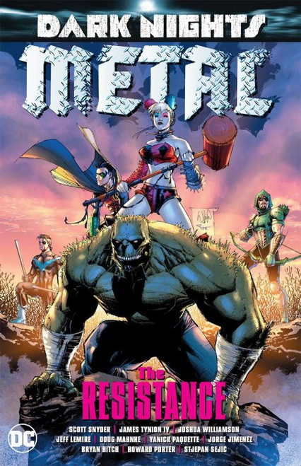 DC Dark Nights Metal The Resistance Trade Paperback Comic Book
