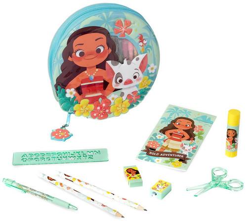 Disney Moana Moana Zip-Up Exclusive Stationery Kit [2018]