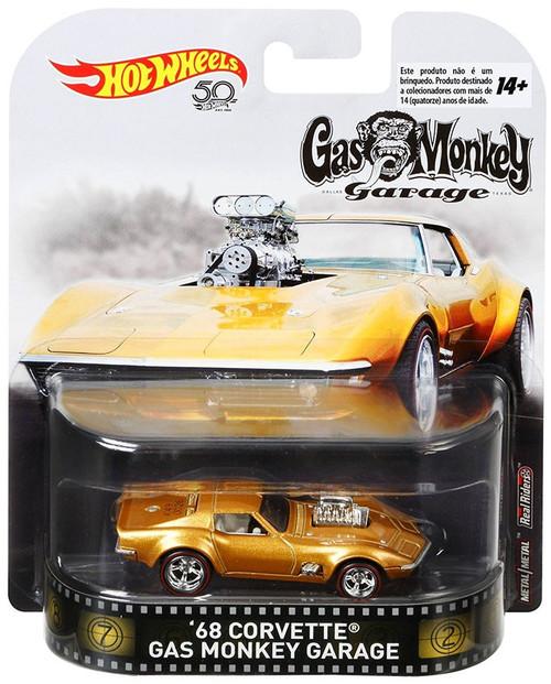 Hot Wheels Gas Monkey Garage '68 Corvette Die-Cast Car