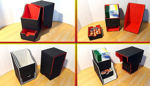 Card Supplies Dragon Shield Nest Box Red & Black