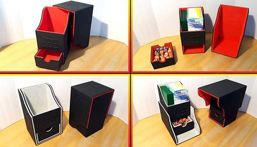 Card Supplies Dragon Shield Nest Box Plus Blue & Black