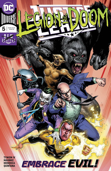 DC Justice League #5 Comic Book