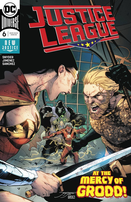 DC Justice League #6 Comic Book