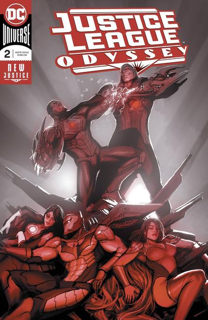 DC Justice League Odyssey #2 Comic Book