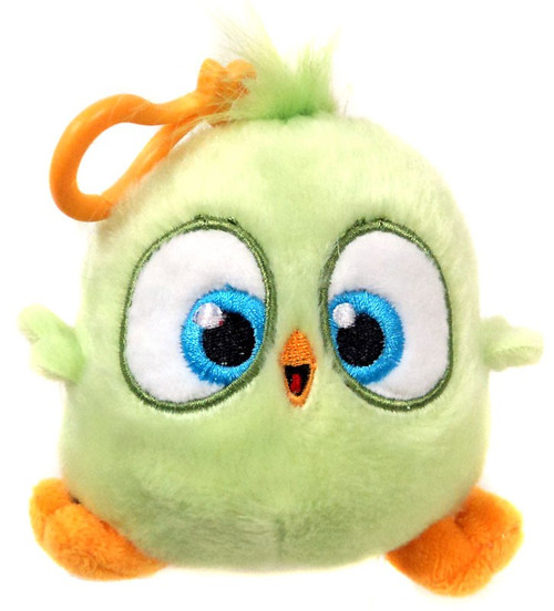 Angry Birds Hatchlings Light Green 4-Inch Plush Clip On