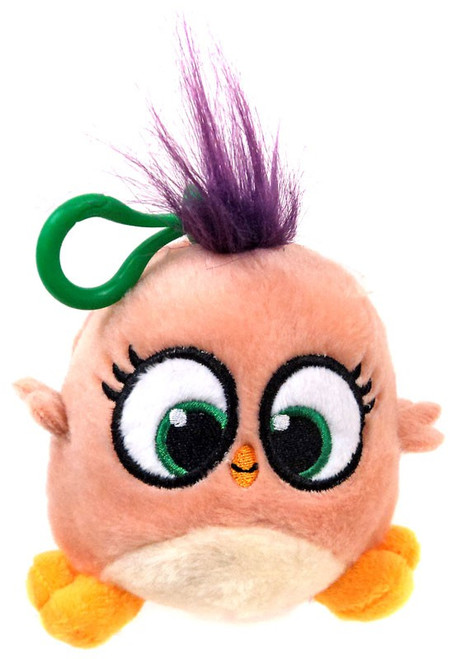 Angry Birds Hatchlings Peach 4-Inch Plush Clip On