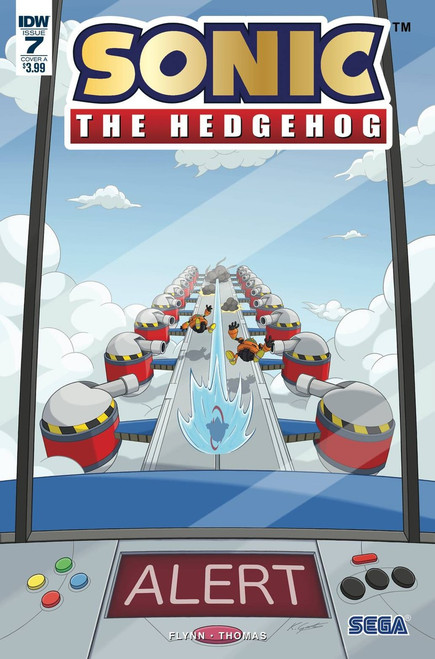 IDW Sonic The Hedgehog #7 Comic Book [Foil Cover A]