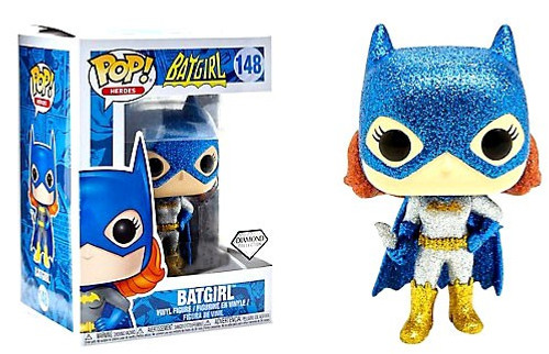 Funko DC POP! Heroes Batgirl Exclusive Vinyl Figure #148 [Diamond Collection]