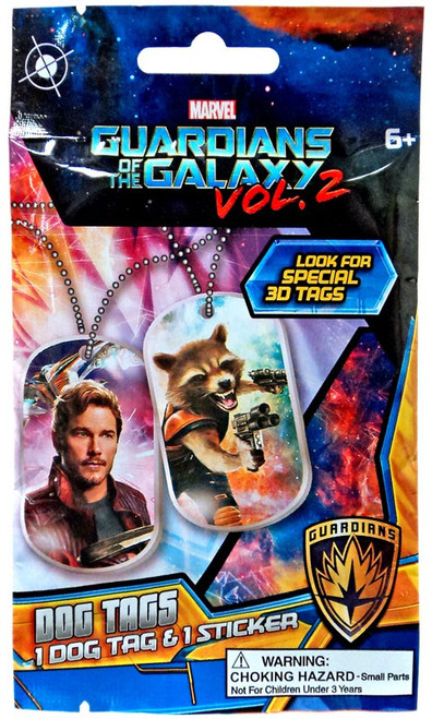 Marvel Guardians of the Galaxy Vol. 2 Dog Tags Mystery Pack