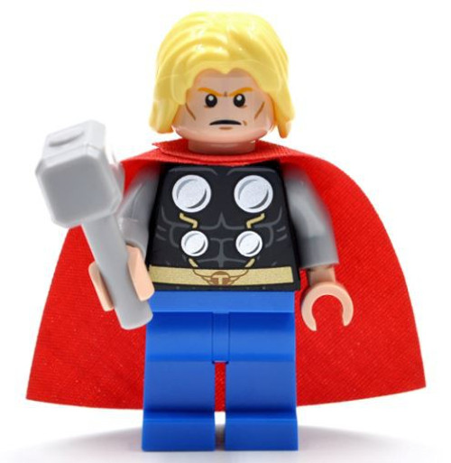 LEGO Marvel Super Heroes Thor Minifigure [No Beard Loose]