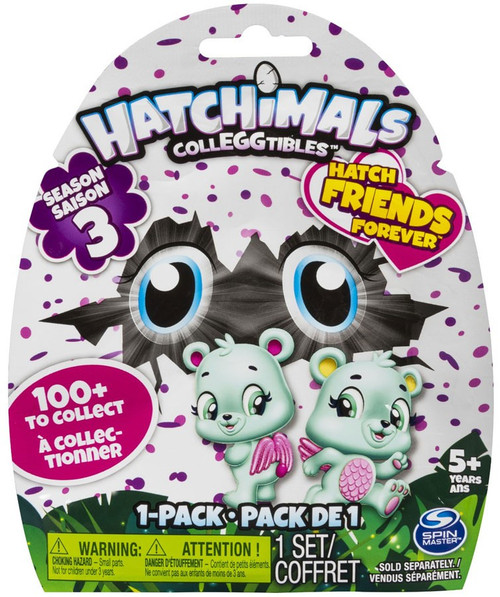 Hatchimals Colleggtibles Season 3 Hatch Friends Forever Mystery 1-Pack