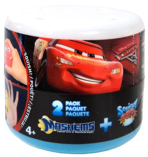 Disney / Pixar Cars Mash'Ems + Squishy Pops Mystery 2-Pack [Capsule]