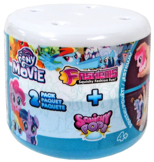 My Little Pony Fash'Ems + Squishy Pops Mystery 2-Pack