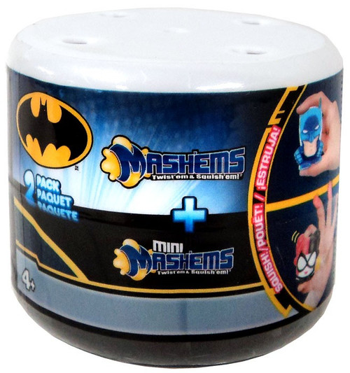 DC Batman Mash'Ems + Mini Mash'Ems Mystery 2-Pack