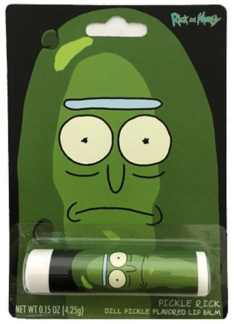 Rick & Morty Pickle Rick .15 Ounce Lip Balm