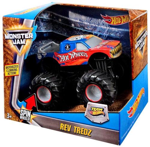 Monster Jam Rev Tredz Hot Wheels Since '68 Vehicle