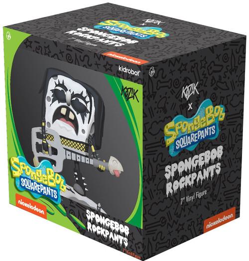 Nickelodeon Spongebob Squarepants Spongebob Rock Pants Medium Figure