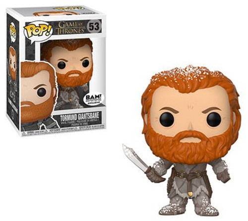 Funko Game of Thrones POP! Tormund Giantsbane Exclusive Vinyl Figure #53