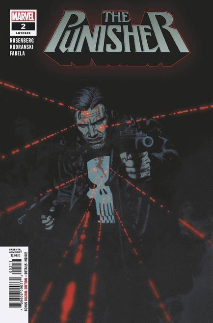 Marvel Comics The Punisher #2 Comic Book