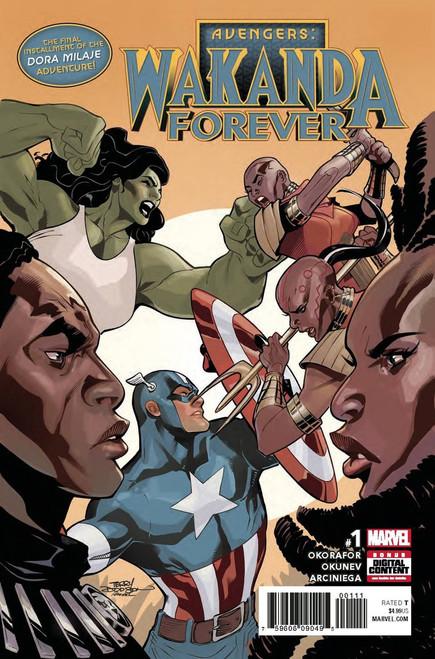 Marvel Comics Wakanda Forever The Avengers #1 Comic Book