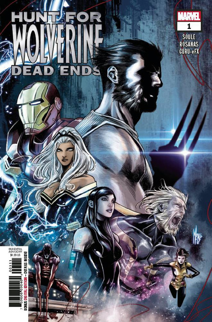 Marvel Comics Hunt for Wolverine #1 Dead Ends Comic Book