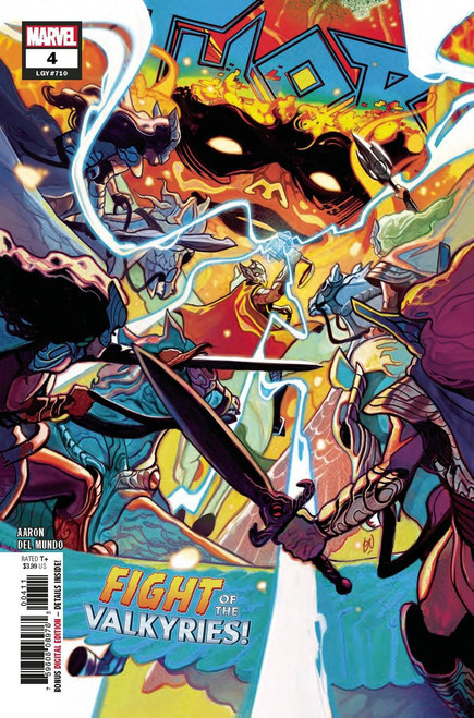 Marvel Comics Thor #4 Comic Book
