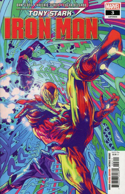 Marvel Tony Stark: Iron Man #3 Comic Book