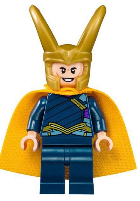 LEGO Marvel Thor: Ragnarok Loki Minifigure [Loose]