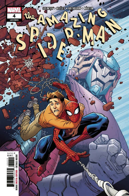 Marvel Amazing Spider-Man #4 Comic Book