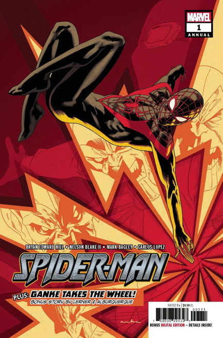 Marvel Comics Spider-Man #1 Annual Comic Book