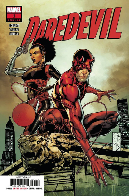 Marvel Comics Daredevil #1 Annual Comic Book