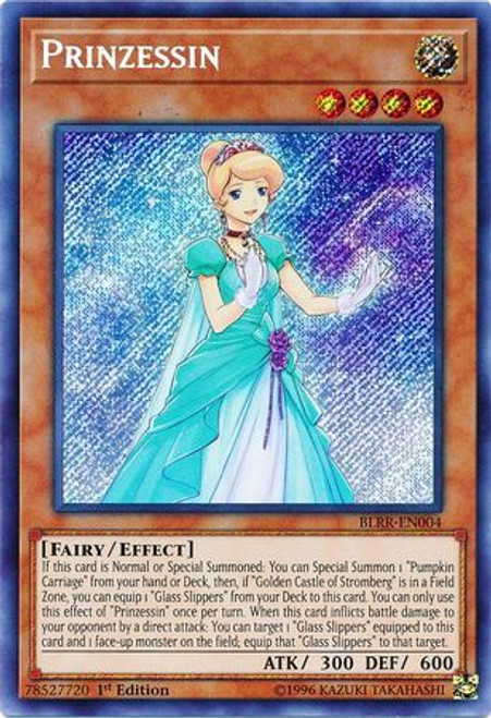 YuGiOh Battles of Legend: Relentless Revenge Secret Rare Prinzessin BLRR-EN004